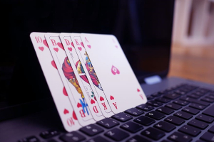 Laptop and Cards